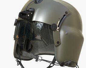 3D model Pilot Helmet Gentex HGU 56P
