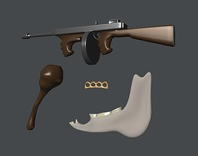 Assorted Weapons 3D