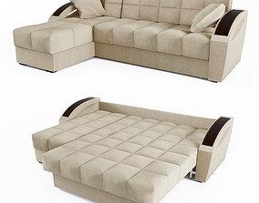 3D model Corner sofa bed Montreal HOFF