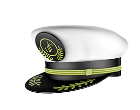 3D model VR / AR ready the hat