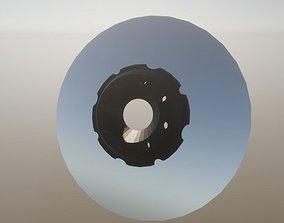 Brake Discs for Sport Cars 3D asset