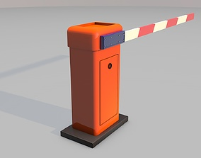 Boom Gate 3d Model game-ready