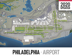 Philadelphia International Airport - PHL 3D asset
