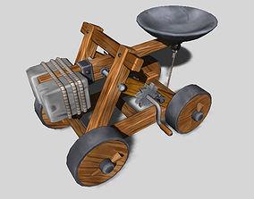 Old catapult 3D model