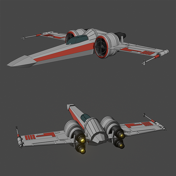 Z-95 Headhunter - Star Wars - Fan Art