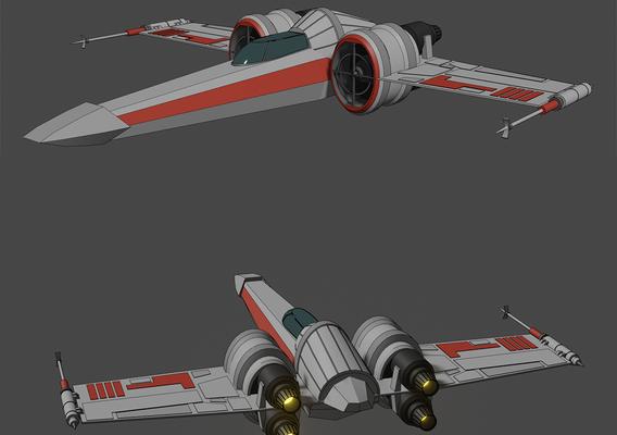 Z-95 Headhunter - Star Wars - Fan Art