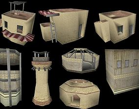 3D model Arabic City - Collection