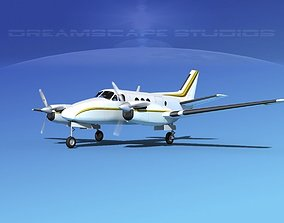 3D Beechcraft King Air C100 V11