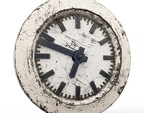 3D Clock old cartoon