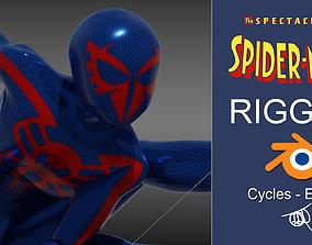 3D asset Spectacular Spider - Man 2099