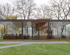 Glass House Lumion 10 Rendering 3D model