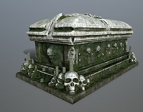 tomb 1 3D model game-ready