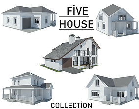 story Five House Collection 3D model