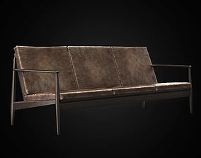 Danish sofa 3D model
