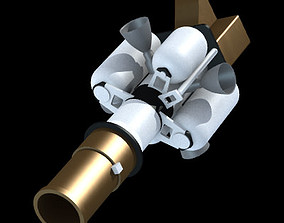 3D model Exo-atmospheric Kill Vehicle EKV