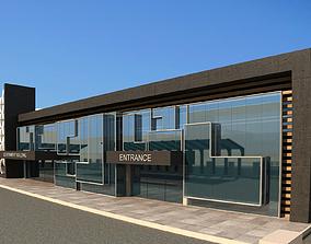 Public Center 3D model