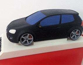 Volkswagen golf V 3D print model