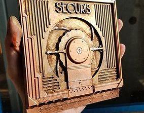 Bioshock Securis Bulkhead Door Miniature 3D print model