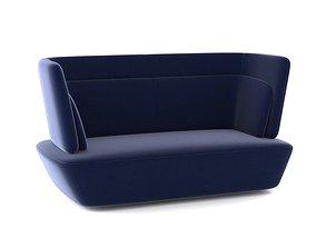 3D EmmeBi Soho Sofa italy