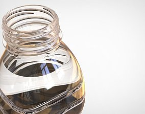 500ml water bottle 3D printable model