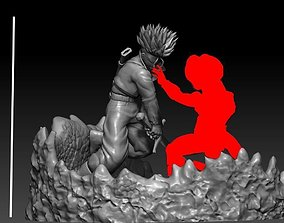 Future trunks vs mecha Frieza second part 3D print model