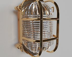 3D Oval Bulkhead Light