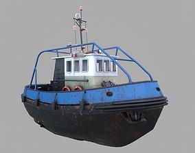 3D asset Tugboat Emilka