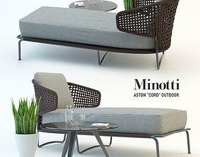 3D Garden furniture minotty