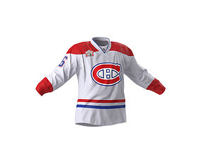 3D model Hockey Jersey Montreal Canadiens