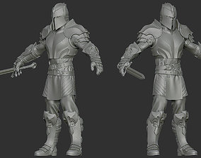 3D Knight - Highpoly Zbrush project