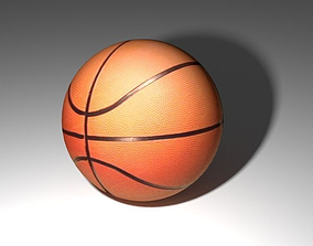 Realistic Baskball 3D print model