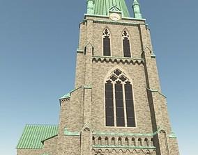 Neo Gothic Church 3D model