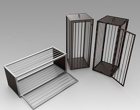3D Medieval cages
