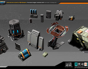 RTS Modulars and Props 3D model