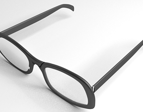 Eyeglasses 4 3D model