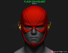 3D print model Flash Helmet Season 6