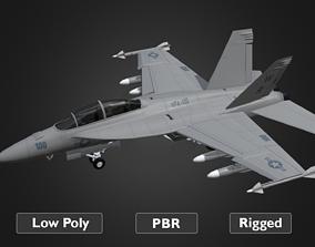 3D model F18 Super Hornet