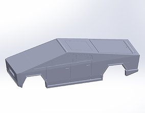 Cybertruck Aerodynamics Printable And Shell Models