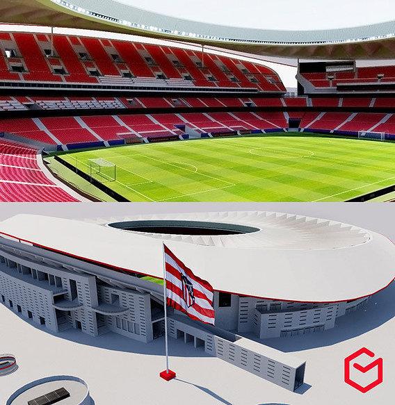 Wanda Metropolitano - Madrid Spain