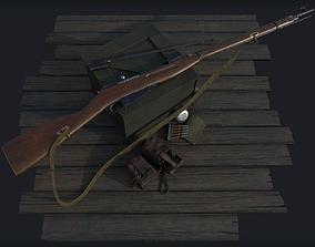 Mosin Nagant M1891-30 PBR and 3D model