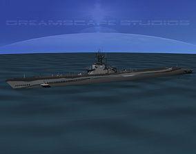 3D Balao Class Submarine USS Cisco SS290