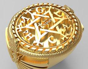 3D print model Salomons Power Ring