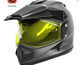Off Road Helmet 3D model