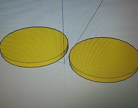 sweet corn fritters 3D print model