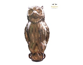 OWL sculpture Ready to Print