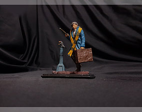 3D print model NEWT SCAMANDER FANTASTIC BEAST HARRY