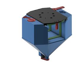 3D printable model Bunker and battery for Tarot 650