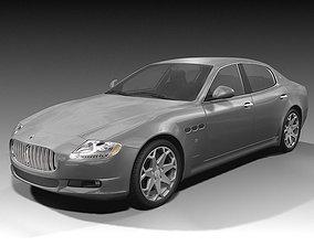 3D Maserati Quattroporte 2009