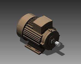 3D print model AC Motor