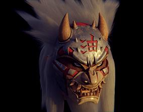 3D printable model Jiraiya mask from Naruto jiraiyart